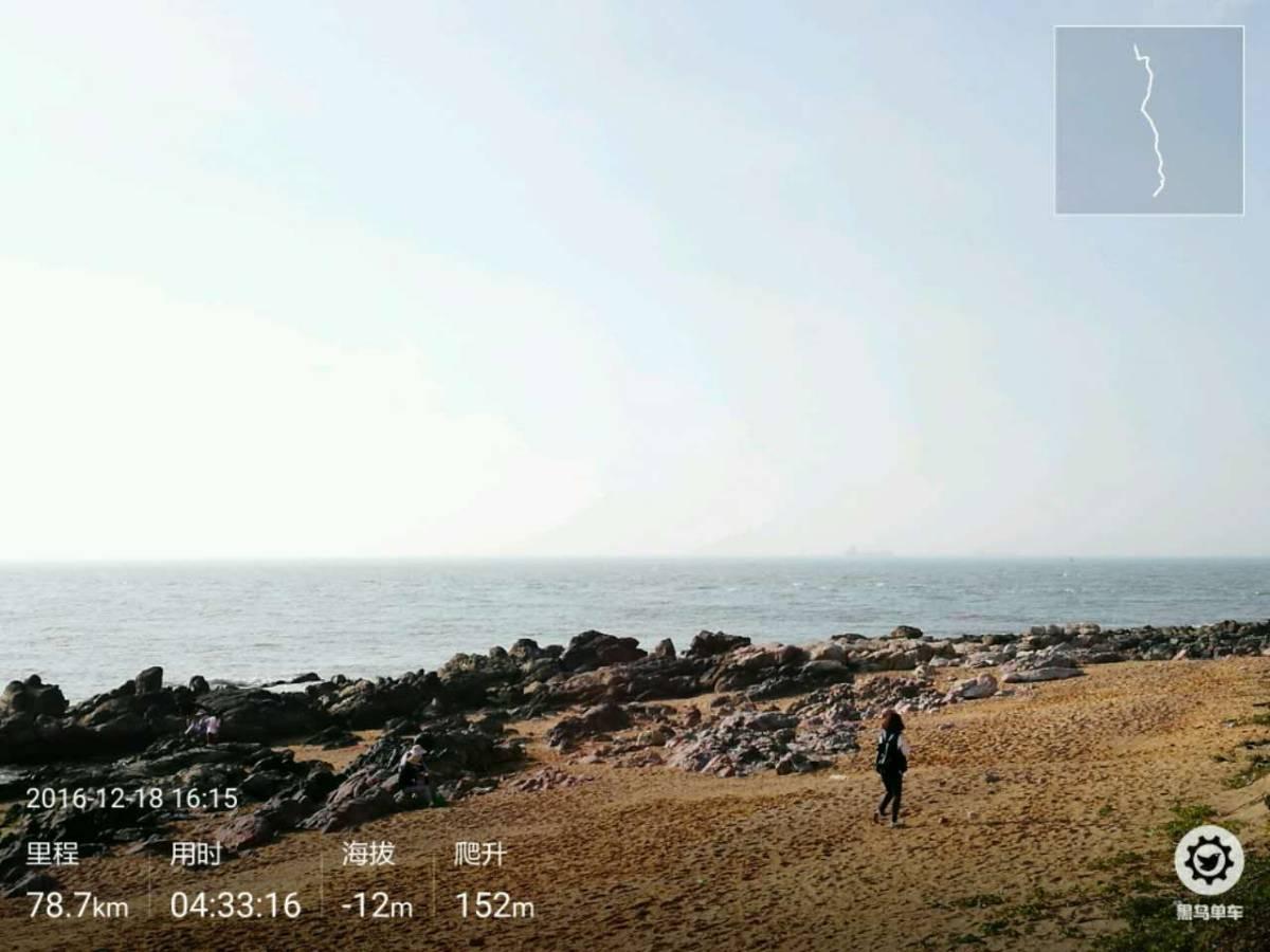 2016年12月11--21日,单漂海南环岛骑之六:莺歌海和鱼鳞洲,面朝大海